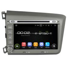 Civic 2012 DVD del coche Reproductor GPS para Honda