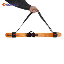 Top grade nylon EVA foam unique self lock ski strap