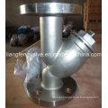Aço inoxidável Flanged End Y-Strainer RF