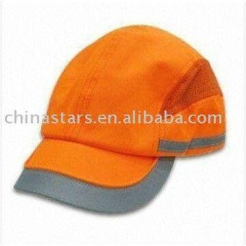 orange EN471 safety baseball cap