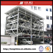 Dernier produit Équipement de stationnement de voiture de Psh, garage automatisé de stationnement d'ascenseur de voiture