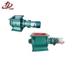 Válvula de válvula rotativa usada na descarga de cinzas