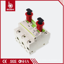 480V-600V Brady Safety Air Disjuntor elétrico Lockout POW (Pin Out Wide), com certificação CE ROHS OSHA