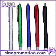 Frosted Metal Luster Click Ballpoint Pen