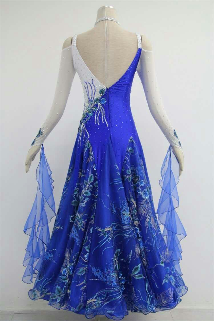 Blue ballroom dresses for rent