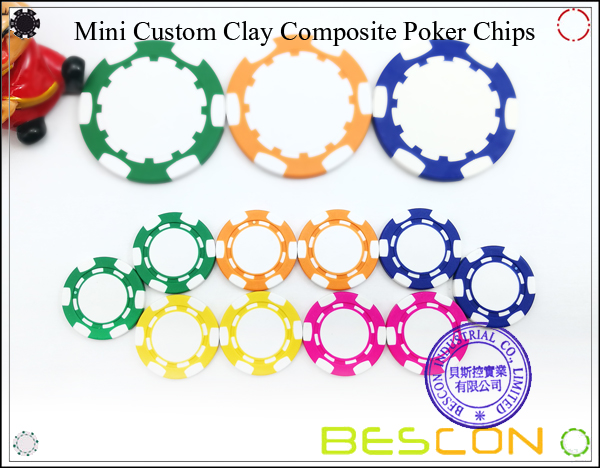 Bescon New Style Clay Chip with Custom Sticker-12