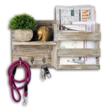 Wall Mount Entryway Mail Envelope Organizer