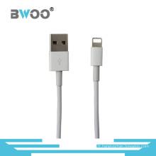 Câble de données d'USB de foudre de chargement rapide d'origine pour le téléphone portable
