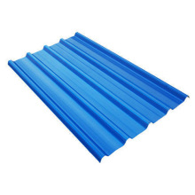 Z80 Ral5015 0.6mm Prepainted Corrugated Steel PPGI Roofing Sheet