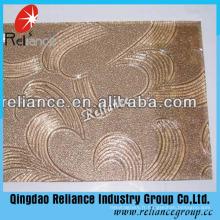 3.5mm Karatachi Pattern Glass / Figure Verre / Bronze Karatachi pour la construction