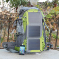 Universal smart solar energy hiking charge backpack for laptop and mobile phones
