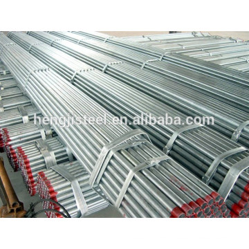 Hot dipped galvanized steel pipe BS1387 standard