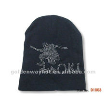 Boy beanie hat with hot transfer printing