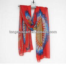 neue Import Schal für Damenmode tragen