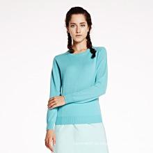 Suéter de cachemira de las mujeres Jersey al por mayor
