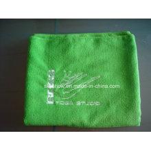 Bestickte Microfiber Yoga Handtuch (SST1011)
