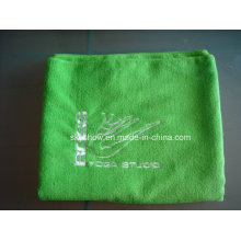 Вышитые йога Microfiber полотенце (SST1011)