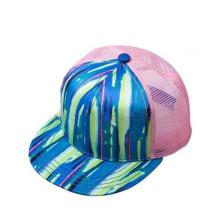 Leder-Krempe Hysteresenhüte mit Metall-Patch