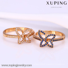 12049 Xuping new design wholesale gold plated women fancy finger rings