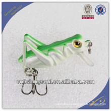 CKL019 4 см саранчи жесткий приманки кривошипно рыболовные приманки с 3D длинные жесткого пластика кривошипно приманки рыболовные приманки