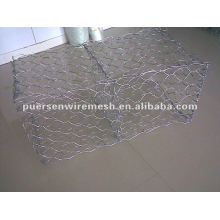 High zinc hot dipped Galvanized Gabion box