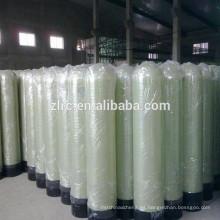 El tanque frp de la presión del tanque de FRP purifica el filtro filtrante del carbón de la arena del filtro