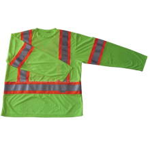 High Visibility Safety T-Shirt with Long Sleeve (DFJ026)