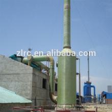 Épurateur acide de tour de purification de brume d'acide de FRP / GRP pour les usines chimiques d'industrie