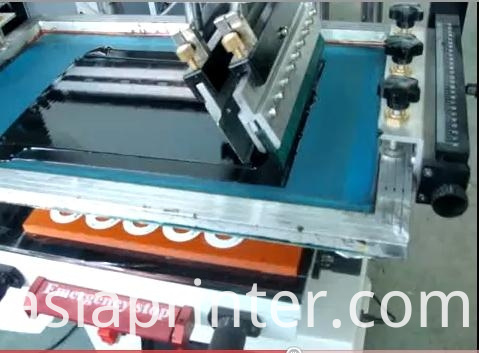 Pneumatic Plane Screen Printing machine