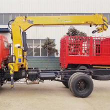 Guindaste montado em caminhão de 4 toneladas com controle remoto