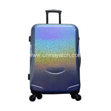 Starry night pearly shine PET luggage set