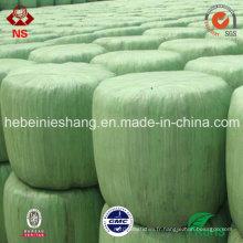 Film d'emballage d'ensilage de LLDPE de force à haute résistance de 25mic