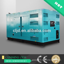 Price of 500kw AC synchronous super silent generator diesel 625kva generator electric silent