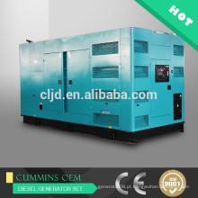 Preço de 500kw AC síncrono super silencioso gerador diesel 625kva gerador elétrico silencioso