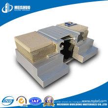 Cubiertas para juntas de expansión de aluminio (de piso a piso)
