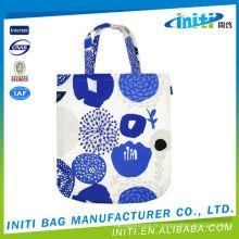Belle mode fabriquée en Chine réutilisable sacs en coton pour enfants