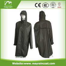 Ladies Fashion PU Raincoat