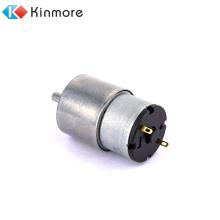 10 U / min 12 V hohes Drehmoment niedrige Drehzahl Gleichstrom-Bürstengetriebemotor von Kinmore Motor geliefert
