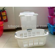 diseño del cliente Molde de cesta de lavandería de plástico