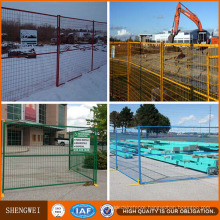 ISO Certificated Canada Standard Construction Site Temporary Fence