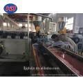 Máquina compuesta de plástico de madera PP / PE PVC WPC