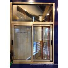 Fenêtre coulissante en aluminium pour la décoration simple