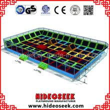 Lit de trampoline énorme de parc d'attractions pour le centre de récréation