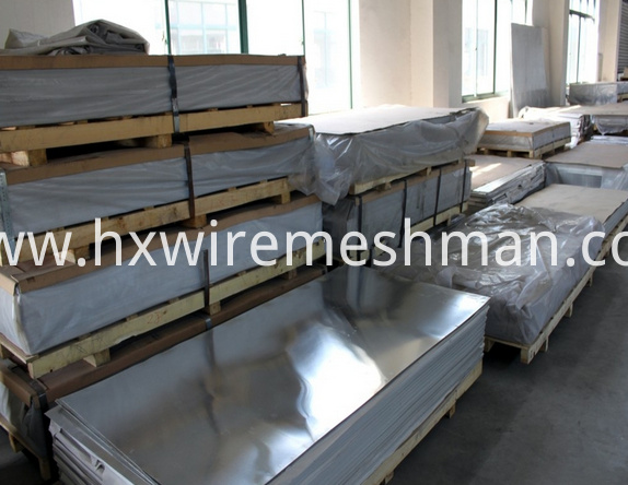 alu punched mesh packing