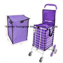 Carrinho reusável feito sob encomenda relativo à inserção do carrinho de compras do mantimento