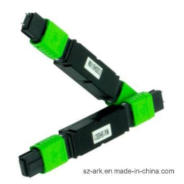 MTP (MPO) Fiber Optic Attenuator with Green Jacket 3dB