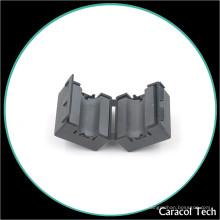 NiZn Soft Magnetic Cable Clamp Ferrite Core para filtro de ruido EMI
