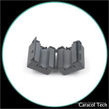 NiZn Soft Magnetic Cable Clamp Ferrite Core para filtro de ruído EMI