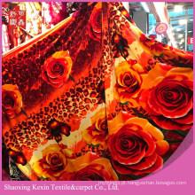 Preço barato super macio cobertor tecido de flanela