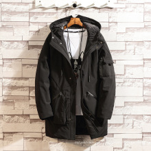 Abrigo de algodón para hombre de encargo de la chaqueta de parka del OEM de la moda